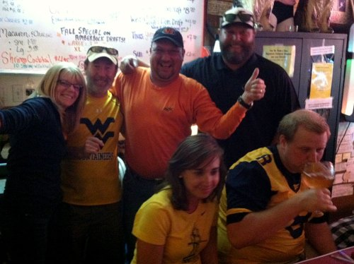 Oklahoma State Cowboys fit right in at Mario's Fishbowl