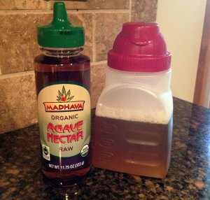 simple syrup with agave