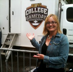 Andy at College GameDay 2011