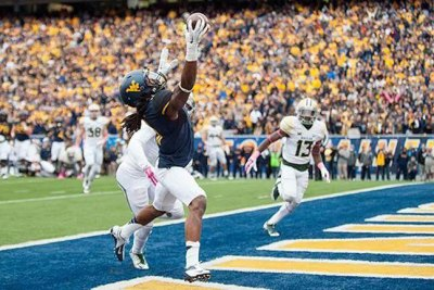 Kevin White with a TD catch against Baylor