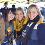 whitney-me-missy at WVU vs. Texas tailgate