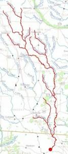 300x670 Alapaha River, Lakeland, Lanier County, GA, Jennings, Hamilton County, FL, in Streamer, by John S. Quarterman, for WWALS.net, 4 July 2014