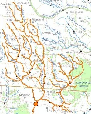 WWALS territory map