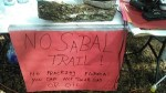 No Sabal Trail! No fracking Florida! You can not drink gas or oil.