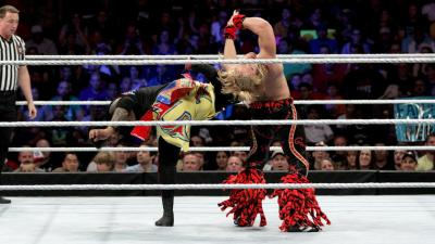 Jimmy Uso plasters Fandango with a superkick ...