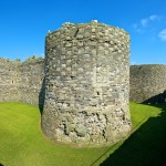 Beaumaris Inner Castle Walls