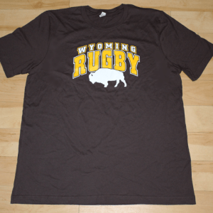 Wyoming rugby shirts