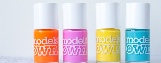models Own polish for tans