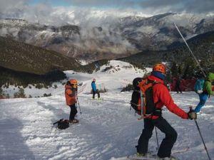 esqui provas