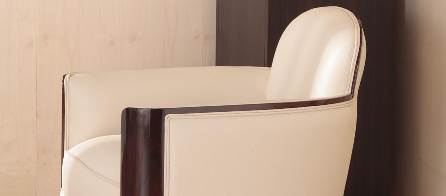 fauteuil 1930 mobilier art d co paris agencement xavier g lineau. Black Bedroom Furniture Sets. Home Design Ideas