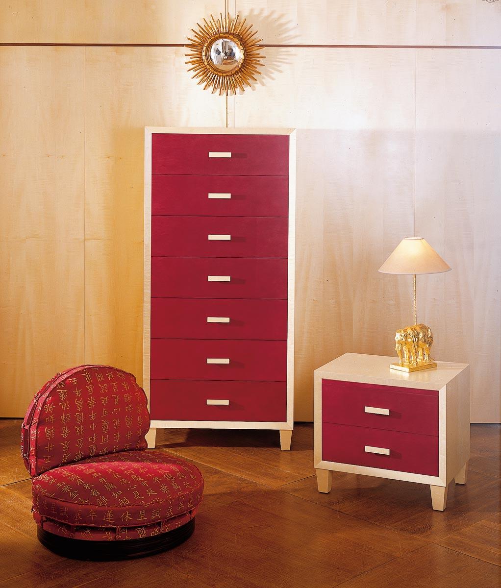 semainier en sycomore mobilier art d co paris agencement xavier g lineau. Black Bedroom Furniture Sets. Home Design Ideas
