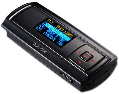 TurboX mp3 player