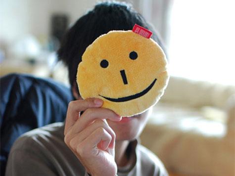 happy shiny person