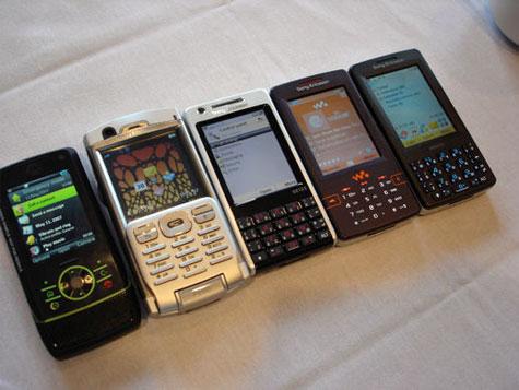 Sony Ericsson UIQ Smartphones
