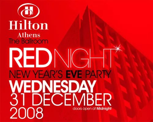 Red Night Party @ Hilton