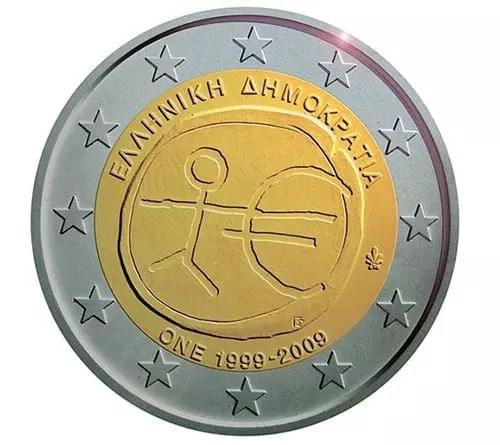 νέο κέρμα των 2 ευρώ