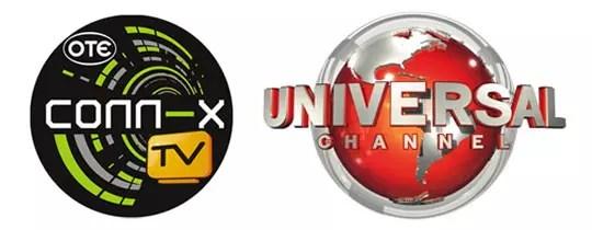 conn-x TV με Universal Channel