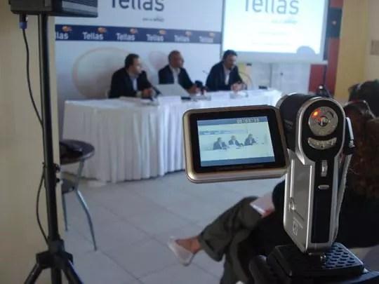Η κάμερα του xblog.gr στη συνέντευξη τύπου