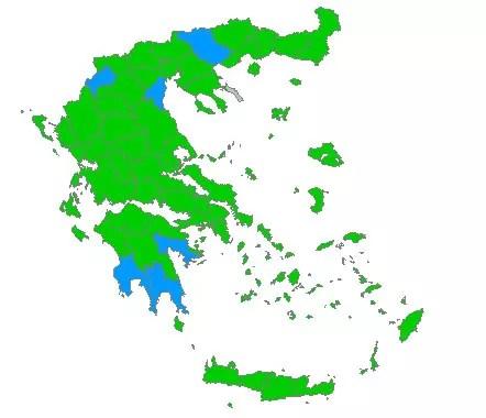 Εκλογές 2009, Επίσημα Αποτελέσματα