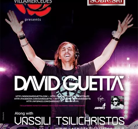 David Guetta at Villa Mercedes