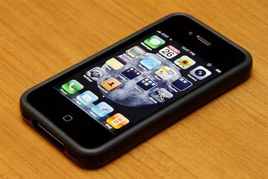 iPhone 4 με Bumper
