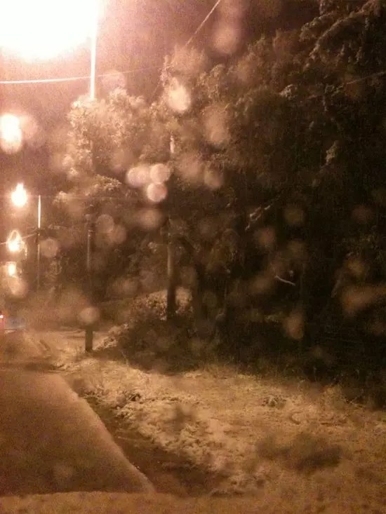 Χιόνια στην Αττική