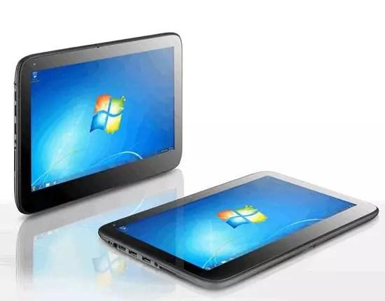 Tablet με Windows 7 από το Πλαίσιο