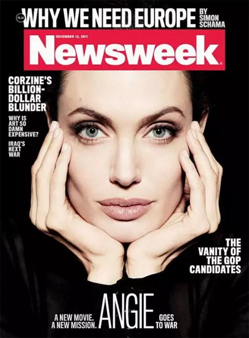 Newsweek – Angelina Jolie