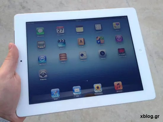 New iPad 16GB Wi-Fi + 4G xblog.gr