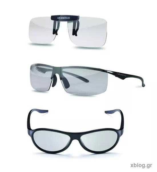Νέα γκάμα Cinema 3D γυαλιών από την LG