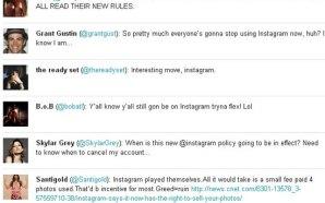 Τα tweet που έγραψαν οι σταρ για το Instagram