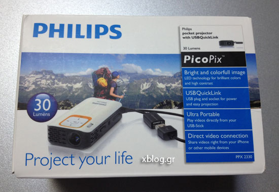Projector Philips Picopix