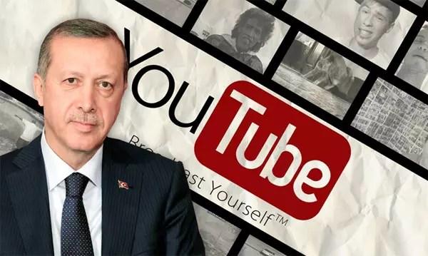 Ο Ερντογάν μπλοκάρει το YouTube στην Τουρκία