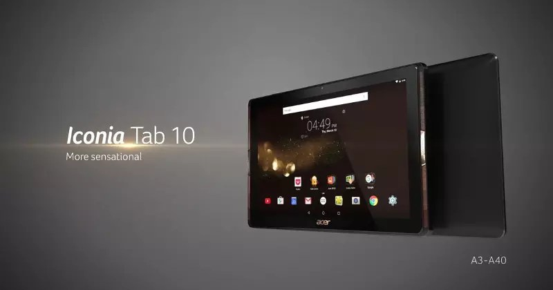 Acer Iconia Tab 10 (A3-A40)