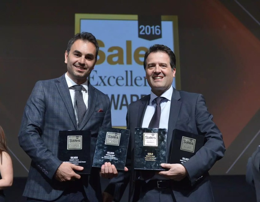 Omilos OTE Sales Excellence Awards 2016