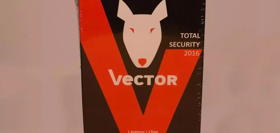Vector Total Security 2016 box