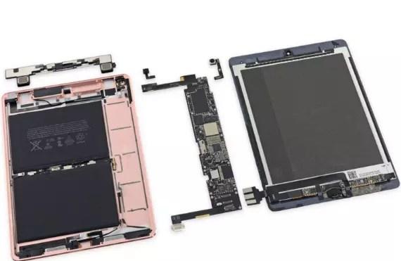iPad Pro 9.7 iFixit teardown