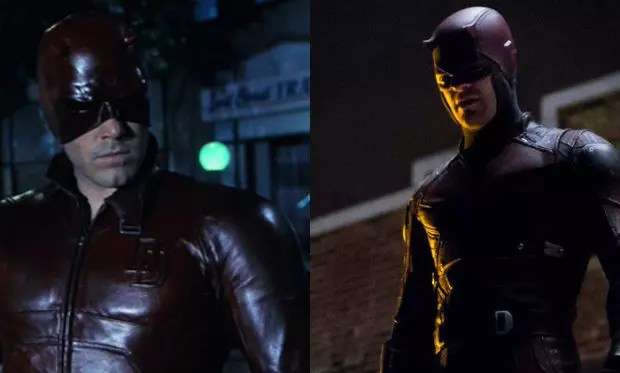 Daredevil 2003 and 2016