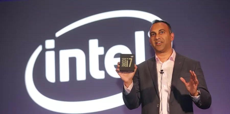 Navin Shenoy (Credit: Intel Corporation)