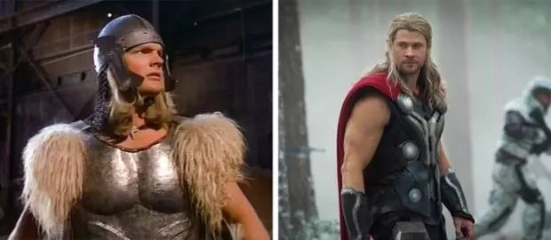 Thor 1978 and 2013