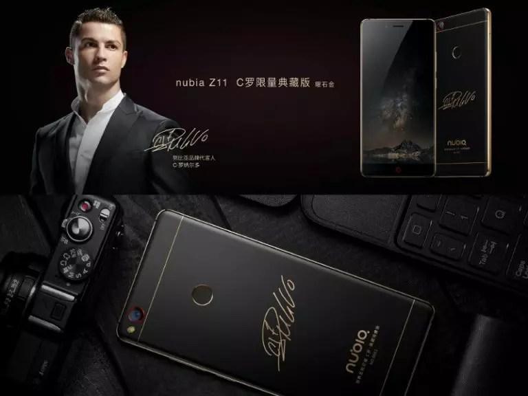 ZTE Nubia Z11 C Limited Collector's Edition Cristiano Ronaldo