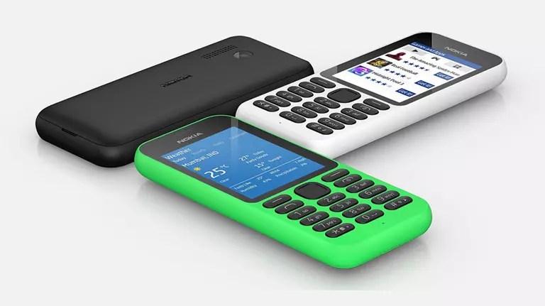 Το feature phone Nokia 215 της Microsoft