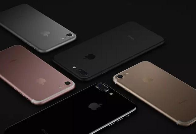 Apple iPhone 7 - iPhone 7 plus colors