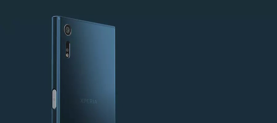 Sony Xperia XZ back