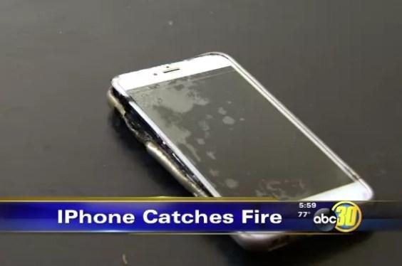 Apple iPhone 6s Plus explosion