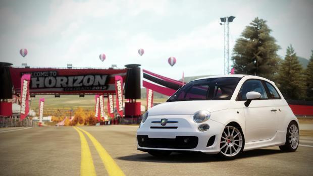 Fiat 500 Abarth EsseEsse Forza Horizon