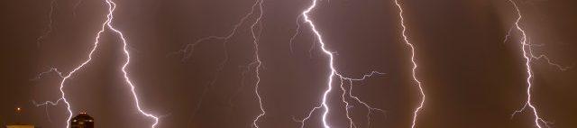 Monsoon thunderstorm over Tucson Arizona