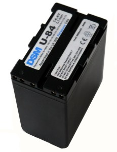 Underside of the DSM U-84 battery.