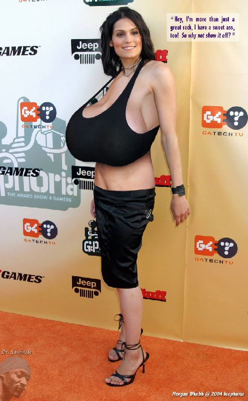 giant morphed celebrity tits