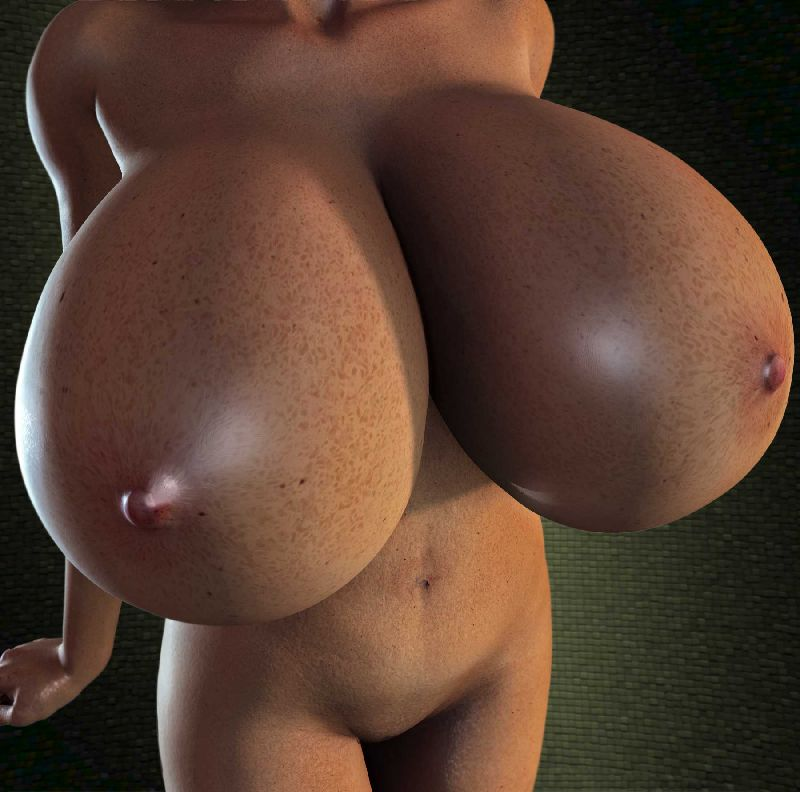 overloaded with biggest morphed tits